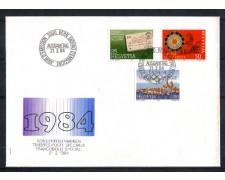 1984 - LOTTO/SVI1198FDC - SVIZZERA - PROPAGANDA - BUSTA FDC