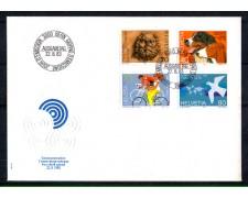 1983 - LOTTO/SVI1188FDC - SVIZZERA - PROPAGANDA 4v. - BUSTA FDC