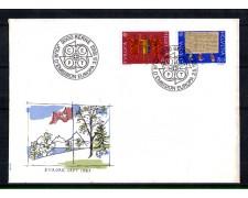 1982 - LOTTO/SVI1151FDC - SVIZZERA - EUROPA AVVENIMENTI STORICI - BUSTA FDC