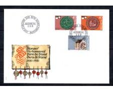 1981 - LOTTO/SVI1134FDC - SVIZZERA - DIETA DI STANS - BUSTA FDC