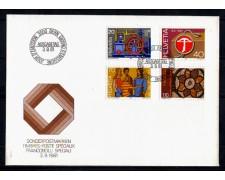 1981 - LOTTO/SVI1138FDC - SVIZZERA - PROPAGANDA 4v.- BUSTA FDC