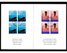 1994 - LOTTO/SVI1454FLD - SVIZZERA - EUROPA QUARTINE - FOLDER FDC