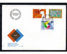 1985 - LOTTO/SVI1232FDC - SVIZZERA - PROPAGANDA 3v. - BUSTA FDC