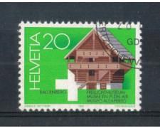 1981 - LOTTO/SVI1121U - SVIZZERA - 20c. BALLEMBERG - USATO