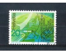 1980 - LOTTO/SVI1114U - SVIZZERA - IST.METEREOLOGIA - USATO