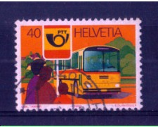 1980 - LOTTO/SVI1111U - SVIZZERA - 40c. CORRIERA POSTALE - USATO