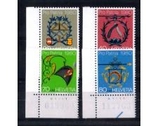 1980 - LOTTO/SVI1109CPN - SVIZZERA - PRO PATRIA 4v. - NUOVI