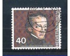 1980 - LOTTO/SVI1104U - SVIZZERA - 40c. EUROPA - USATO