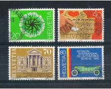 1980 - LOTTO/SVI1103CPU - SVIZZERA - PROPAGANDA 4v. - USATI