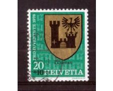 1978 - LOTTO/SVI1072U - SVIZZERA - 20+10c. PRO JUVENTUTE - USATO