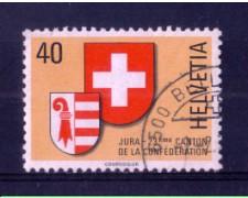 1978 - LOTTO/SVI1071U - SVIZZERA - CANTONE GIURA - USATO