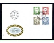 1978 - LOTTO/SVI1070FDC - SVIZZERA - UOMINI ILLUSTRI - BUSTA FDC