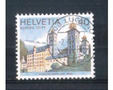1978 - LOTTO/SVI1058U - SVIZZERA - 40c. EUROPA - USATO