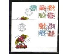 1977 - LOTTO/SVI1041FDC - SVIZZERA - TRADIZIONI POPOLARI - 2 BUSTE FDC