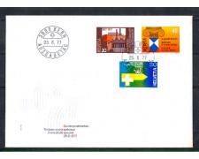 1977 - LOTTO/SVI1032FDC - SVIZZERA - TRADIZIONI 3v. - BUSTA FDC