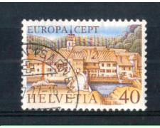 1977 - LOTTO/SVI1024U - SVIZZERA - 40c. EUROPA - USATO