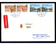 1977 - LOTTO/SVI1025FDCR - SVIZZERA - EUROPA - BUSTA FDC RACCOMANDATA