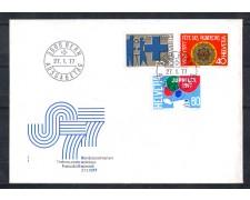 1977 - LOTTO/SVI1023FDC - SVIZZERA - PROPAGANDA 3v. - BUSTA FDC