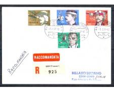 1977 - LOTTO/SVI1020BR - SVIZZERA - PIONIERI AVIAZIONE - BUSTA RACCOMANDATA