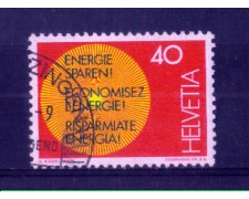 1976 - LOTTO/SVI1010U - SVIZZERA - 40c. RISPARMIO ENERGIA - USATO