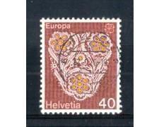 1976 - LOTTO/SVI1003U - SVIZZERA - 40c. EUROPA - USATO