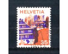 1975 - LOTTO/SVI993U - SVIZZERA - 35c. PAESAGGI  - USATO