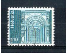 1975 - LOTTO/SVI991U - SVIZZERA - 1,10 Fr. PORTALE - USATO