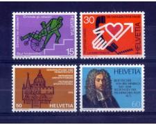 1975 - LOTTO/SVI990CPN - SVIZZERA - PROPAGANDA 4v. - NUOVI