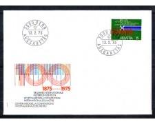 1975 - LOTTO/SVI976FDC - SVIZZERA - 15c. CONVENZIONE METRICA - BUSTA FDC