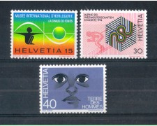 1973 - LOTTO/SVI932CPN - SVIZZERA - PROPAGANDA 3v. - NUOVI