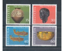 1973 - LOTTO/SVI929CPN - SVIZZERA  - PRO PATRIA 4v. - NUOVI