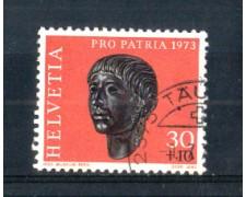 1973 - LOTTO/SVI927U - SVIZZERA - 30+10c. PRO PATRIA - USATO