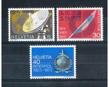 1973 - LOTTO/SVI923CPN - SVIZZERA - PROPAGANDA 3v. - NUOVI