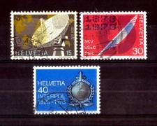 1973 - LOTTO/SVI923CPU - SVIZZERA - PROPAGANDA 3v. - USATI