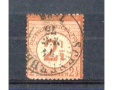 1872 - LBF/2349  - GERMANIA IMPERO -  2,5g. BRUNO -