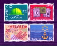 1968 - LOTTO/SVI814CPN - SVIZZERA - PROPAGANDA 4v. - NUOVI
