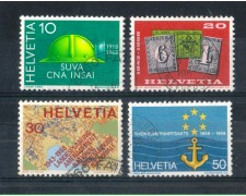 1968 - LOTTO/SVI814CPU - SVIZZERA - PROPAGANDA 4v. - USATI