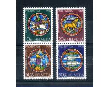 1968 - LOTTO/SVI810CPN - SVIZZERA - PRO PATRIA 4v. - NUOVI
