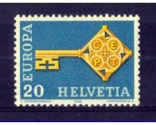 1968 - LOTTO/SVI806N - SVIZZERA - 20c. EUROPA - NUOVO
