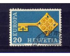 1968 - LOTTO/SVI806U - SVIZZERA - 20c. EUROPA - USATO