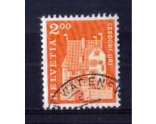 1967 - LOTTO/SVI796U - SVIZZERA - 2 Fr. EDIFICI STORICI - USATO