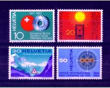 1967 - LOTTO/SVI794CPN - SVIZZERA - PROPAGANDA 4v. - NUOVI