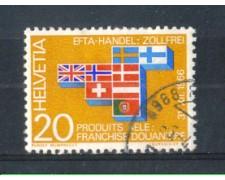 1967 - LOTTO/SVI785U - SVIZZERA - 20c. E.F.T.A. - USATO