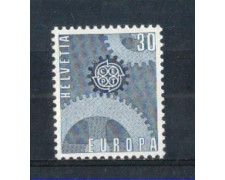 1967 - LOTTO/SVI783N - SVIZZERA - 30c. EUROPA - NUOVO