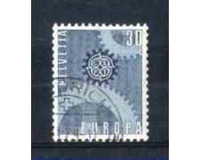 1967 - LOTTO/SVI783U - SVIZZERA - 30c. EUROPA - USATO