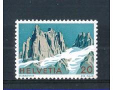 1972 - LOTTO/SVI906N - SVIZZERA - 20c. MONTI SPANNORTER - NUOVO