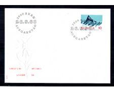 1966 - LOTTO/SVI775FDC - SVIZZERA - 10c. ALPI SVIZZERE - BUSTA FDC