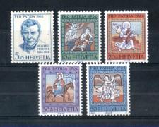 1966 - LOTTO/SVI773CPN - SVIZZERA - PRO PATRIA 5v. - NUOVI