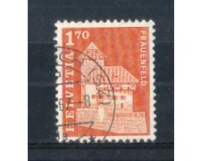 1966 - LOTTO/SVI765U - SVIZZERA - 1,70 Fr. EDIFICI STORICI - USATO