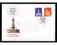 1966 - LOTTO/SVI765FDC - SVIZZERA - EDIFICI STORICI - BUSTA FDC